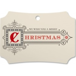 Merry Christmas Personalized Ornament Deluxe found on Bargain Bro India from colorfulimages.com for $19.99