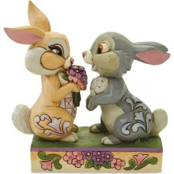 Thumper & Blossom Figurine by Jim Shore found on Bargain Bro India from colorfulimages.com for $41.99