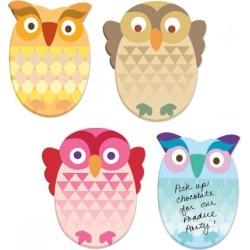 Owls Sticky Note Pads