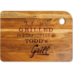 Grilled to Perfection Custom Wood Cutting Board found on Bargain Bro India from colorfulimages.com for $39.99
