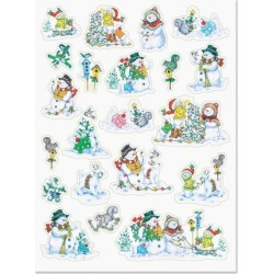 Snowman Fun Stickers found on Bargain Bro India from colorfulimages.com for $3.99