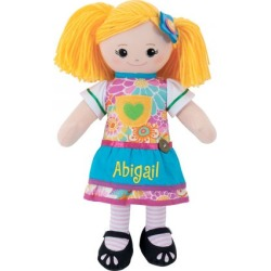 Custom Blonde Rag Doll with Apron Dress found on Bargain Bro from colorfulimages.com for USD $30.39
