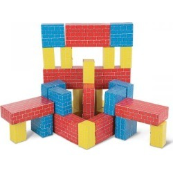 Deluxe Jumbo Cardboard Blocks by Melissa & Doug found on Bargain Bro India from colorfulimages.com for $52.99
