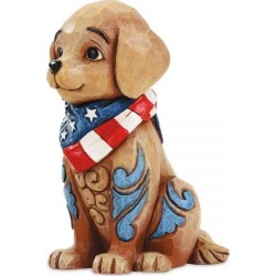 Jim Shore Mini Patriotic Puppy Figurine found on Bargain Bro India from colorfulimages.com for $18.99