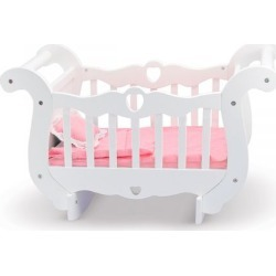 Wooden Baby Doll Crib by Melissa & Doug found on Bargain Bro India from colorfulimages.com for $69.99