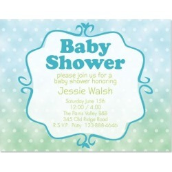 Bright Baby Invitation found on Bargain Bro India from colorfulimages.com for $12.99