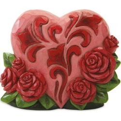 Mini Heart With Roses by Jim Shore® found on Bargain Bro India from colorfulimages.com for $18.99