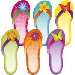 Flip-Flops Sticky Note Pads