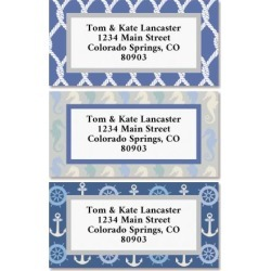 Sail Away Border Return Address Labels (3 Designs) found on Bargain Bro Philippines from colorfulimages.com for $8.99