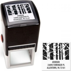 Trees Square Address Stamp found on Bargain Bro Philippines from colorfulimages.com for $18.99
