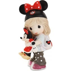 Girl with Minnie Mouse Dreamer Figurine by Precious Moments® Disney® found on Bargain Bro Philippines from colorfulimages.com for $49.99