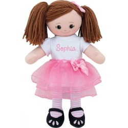 Brunette Ballerina Custom Doll found on Bargain Bro from colorfulimages.com for USD $30.39