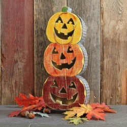 Pumpkin Stacker Decor found on Bargain Bro India from colorfulimages.com for $22.99