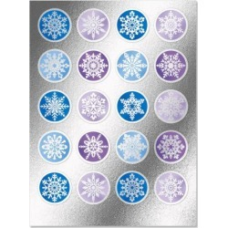 Foil Snowflakes Seals Buy 1 Get 1 Free found on Bargain Bro India from colorfulimages.com for $2.98
