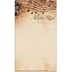 Sheet Music Memo Pad