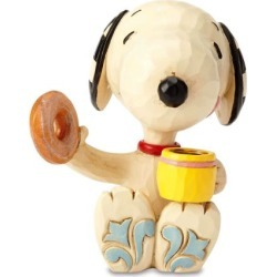 Snoopy™ Donut and Coffee Mini Figurine by Jim Shore found on Bargain Bro India from colorfulimages.com for $20.99