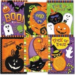 Halloween Treat Cards