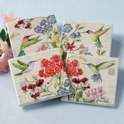 Hummingbird Coasters found on Bargain Bro India from colorfulimages.com for $14.99