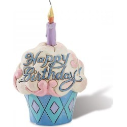 Happy Birthday Cupcake Figurine by Jim Shore found on Bargain Bro India from colorfulimages.com for $15.99
