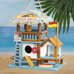 Beach Rescue Birdhouse found on Bargain Bro India from colorfulimages.com for $19.99