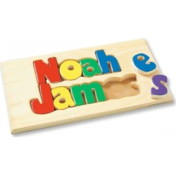 Custom Double Name Board 1-8 Letters - Primary found on Bargain Bro from colorfulimages.com for USD $40.27
