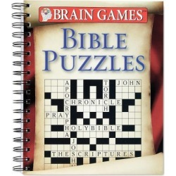 Brain Games Bible Puzzles Book