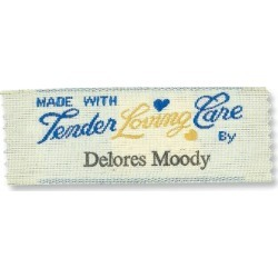 Made with Tender Loving Care By Personalized Sewing Labels found on Bargain Bro Philippines from colorfulimages.com for $27.99