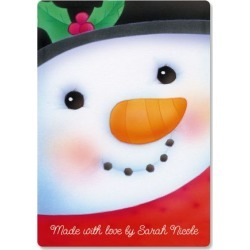 Snowman Custom Glass Cutting Board found on Bargain Bro India from colorfulimages.com for $16.99