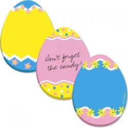 Easter Egg Sticky Note Pads