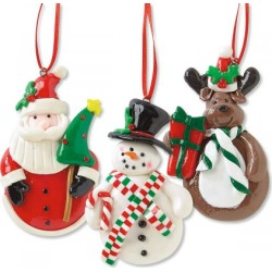 Christmas Character Ornament found on Bargain Bro India from colorfulimages.com for $9.99