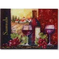 Wine Glasses Custom Glass Cutting Board found on Bargain Bro India from colorfulimages.com for $24.99