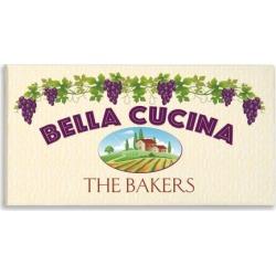 Bella Cucina Personalized Canvas Print