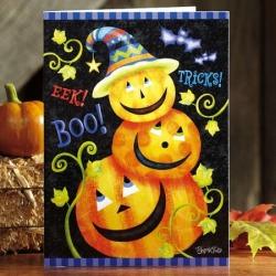 Pumpkin Stack Cards