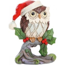 Mini Christmas Owl by Jim Shore found on Bargain Bro India from colorfulimages.com for $15.99