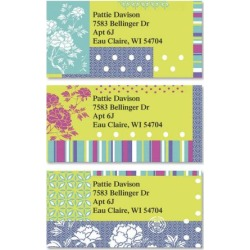 Carnation Border Return Address Labels (3 Designs) found on Bargain Bro India from colorfulimages.com for $8.99