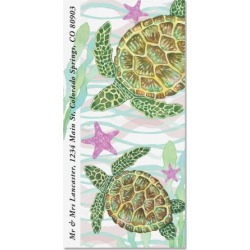 Sea Turtles Oversized Return Address Labels found on Bargain Bro Philippines from colorfulimages.com for $9.99