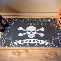 Halloween Personalized Doormat
