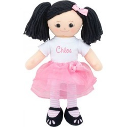 Personalized Asian Rag Doll with Tutu found on Bargain Bro from colorfulimages.com for USD $30.39