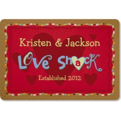 Love Shack Personalized Doormat