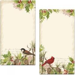 Holly & Birds Memo List Pad