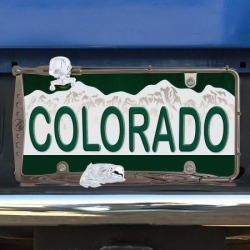 Fishing License Plate Frame found on Bargain Bro from colorfulimages.com for USD $15.19