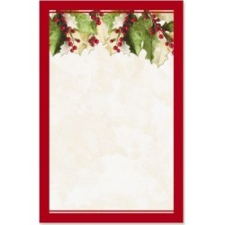 Holly Christmas Invitations found on Bargain Bro India from colorfulimages.com for $5.99