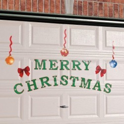 Magnetic Christmas Garage Door Decoration found on Bargain Bro India from colorfulimages.com for $19.99