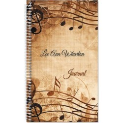 Sheet Music Personalized Daily Journal