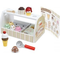 Scoop & Serve Ice Cream Counter by Melissa & Doug found on Bargain Bro India from colorfulimages.com for $57.99