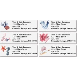 Underwater Classic Return Address Labels (6 Designs) found on Bargain Bro Philippines from colorfulimages.com for $8.99