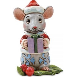 Mini Christmas Mouse by Jim Shore found on Bargain Bro India from colorfulimages.com for $18.99
