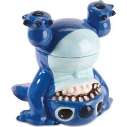 Disney® Stitch Handstand Cookie Jar found on Bargain Bro India from colorfulimages.com for $59.99