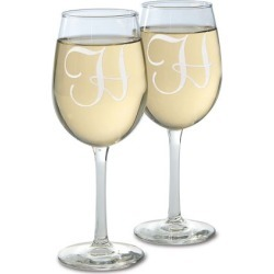 Custom Wine Glass with Initial found on Bargain Bro India from colorfulimages.com for $14.99
