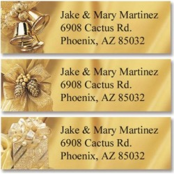 Golden Trimmings Classic Return Address Labels (3 Designs) found on Bargain Bro India from colorfulimages.com for $8.99